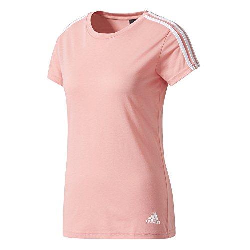 adidas Damen Essentials 3 Streifen T Shirt