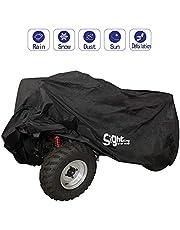 SIGHTLING Housse/Bâche Protection pour Moto Quad 190T ATV Extérieure Etanche Anti -UV, 210 * 120 * 115cm