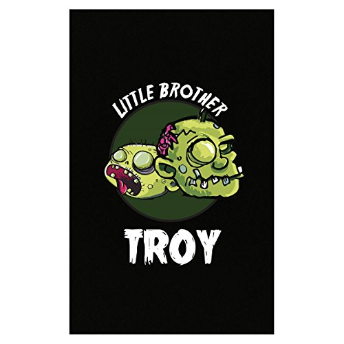 Prints Express Halloween Costume Troy Little Brother Funny Boys Personalized Gift - Poster -