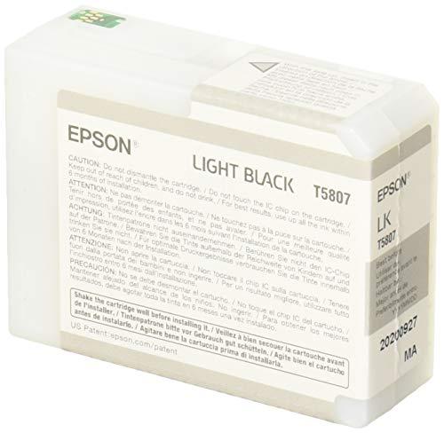 (Epson T5807 UltraChrome K3 Light Black Cartridge Ink)