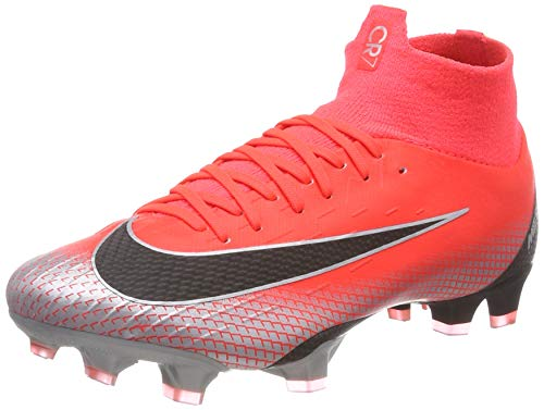 (Nike Superfly 6 Pro CR7 FG Men's soccer cleats AJ3550 600 Multiple sizes (8,Medium (D, M)))