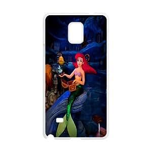 Samsung Galaxy Note 4 Phone Case The Little Mermaid Nh4158