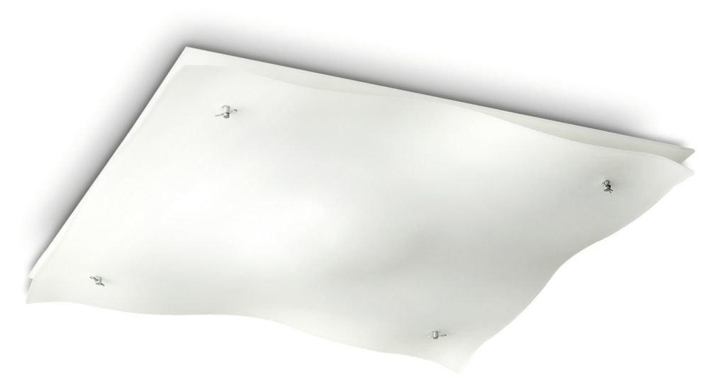 Plafoniere Quadrate Philips : Plafoniere commerciali del nero led di lm w con la fusion d
