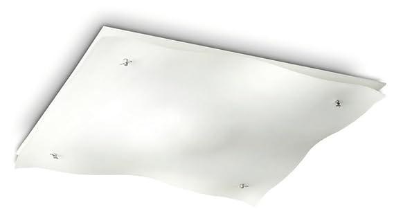 Plafoniere Quadrate Philips : Philips plafoniera cm tides amazon illuminazione