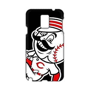 Angl 3D Case Cover Cincinnati Reds Logos Phone Samsung Galaxy Note3 hjbrhga1544