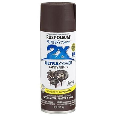 Rust-Oleum 249081 Painter's Touch Multi Purpose Spray Paint, 12-Ounce, Satin Espresso