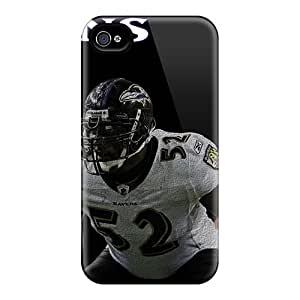 Awesome Case Cover/iphone 4/4s Defender Case Cover(baltimore Ravens)