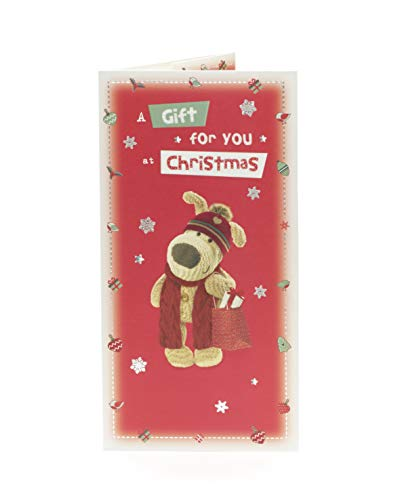 Cute Boofle Christmas Money Gift Wallet Holder (Boofle Christmas)