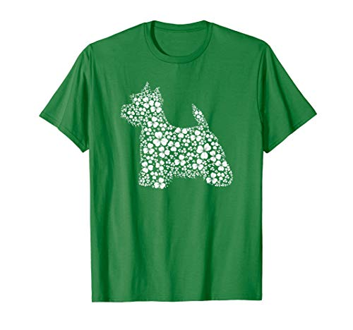 Lucky Shamrock Westie Dog St. Patrick Day Mom Woman -