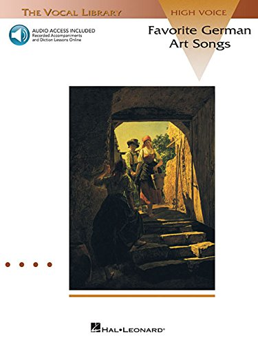 Favorite German Art Songs - Volume 1: The Vocal Library High Voice