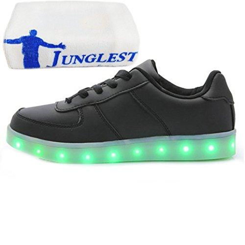 Carga Niño LUZ Baile Toalla Para Fiesta Zapatillas junglest c12 Deportivos Niña con Presente Brillantes Danza Para Multicolor Zapatos Pequeña LED PqwxfYU