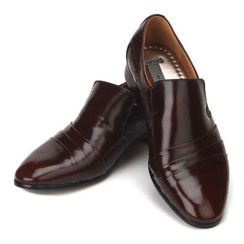 Ny Jurdan Mens Brun Läderklänningen Formella Dagdrivare Skor