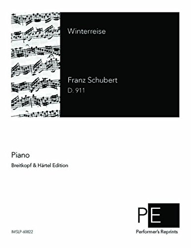 Winterreise - Voice and Piano - Score ()