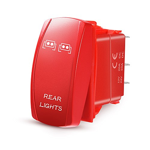 Переключатель MicTuning RedLever Rear Lights Rocker