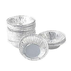 BESTONZON - Molde para tartas de huevo (250 unidades ...