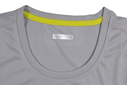H.MILES - Camisa deportiva - para mujer gris