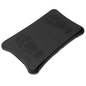 Premium Black Durable Flexible Soft Silicone Skin Cover Case for Nintendo Wii.
