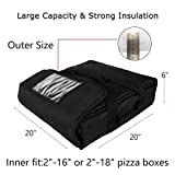 YOPRAL Insulated Food Delivery Bag Pizza Delivery