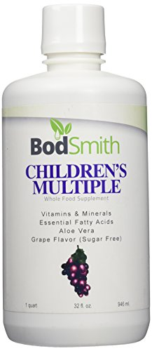 LIQUID CHILDREN'S MULTIPLE by BodSmith is an amazing blend of whole foods designed to provide the vitamins, minerals, trace minerals, and amino acids for growing - Multi Mineral Amino Acid