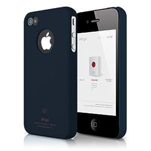 elago S4 Slim Fit Case for iPhone 4/4S + Logo Protection Film Included (Jean Indigo)