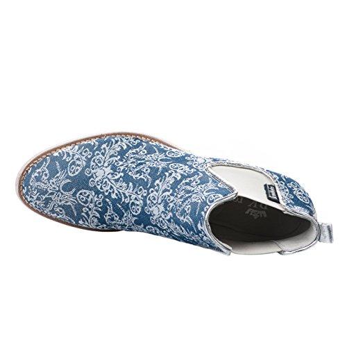 Bleu Marine Femme Boots Republyka Bleu qa6XYXx