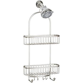 Good InterDesign York Extra Large Shower Caddy   Bathroom Storage Shelves For  Shampoo, Conditioner And Soap