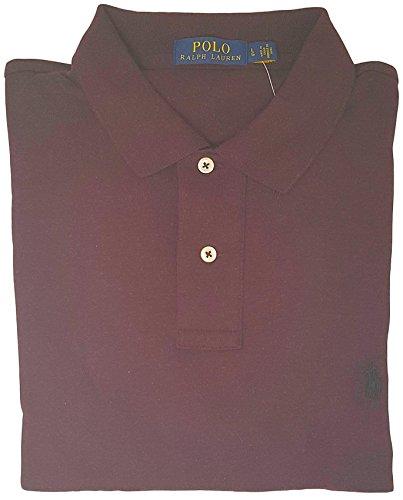 Interlock Polo (Polo Ralph Lauren Men Medium Fit Interlock Polo Shirt (XXL, CLGWine))