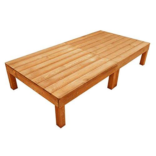 igarden アイガーデンオリジナル天然木製ウッドデッキセット、縁台