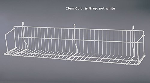 Count of 10 New Grey Strong Welded Design Grid Standard Shelf 36'' Wide by Standard Shelf (Image #1)
