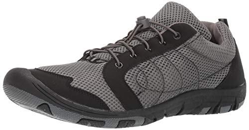 RocSoc: Water Shoes for Men, Aqua Shoes & Beach Shoes for Kayaking, Swimming, Surfing & Snorkeling, Must Have Scuba Gear for Water Sports, Grey Size 11