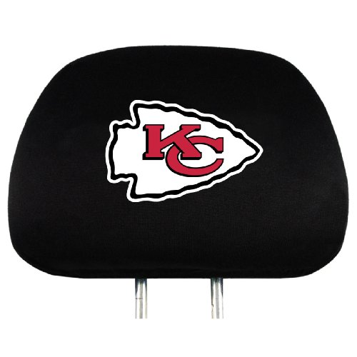 NFL Kansas City Chiefs Head Rest Covers, - Malls Outlet City Kansas