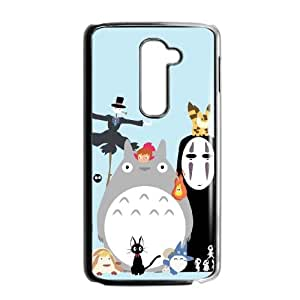 My Neighbour Totoro LG G2 Cell Phone Case Black&Phone Accessory STC_942493