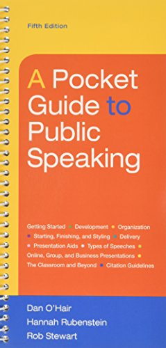 Pocket Guide to Public Speaking 5e & LaunchPad (Six Month Access)