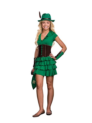 Robyn da Hood Teen/Junior Costume - Teen X-Small -