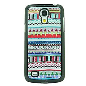 QJM 20150511 Special Designs High Quality Leather Vein Hard Case for Samsung Galaxy S4 Mini I9190