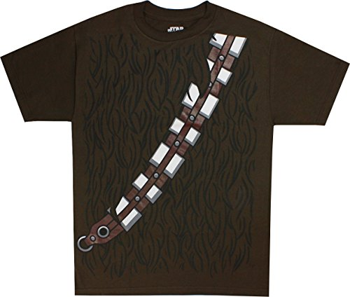 Star Wars I am Chewbacca Costume Adult Brown T-Shirt (XXX-Large) (Boys I Am Chewbacca Costume Tshirt)