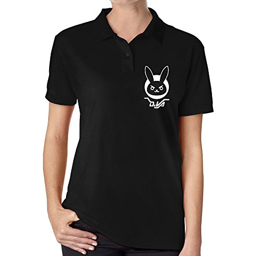 Overwatch Women's D.VA BUNNY Golf Polo-shirts