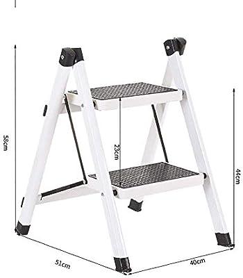 CSS Escalera, Reposapiés, Taburete Pequeño, Taburete de Bar, Taburete de Restaurante, Escalera, Silla, Mesas Y Sillas Escalera Plegable Pequeña Escalera Escalera de Hierro Plegable Al Aire Libre para: Amazon.es: Bricolaje y herramientas