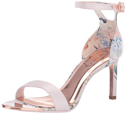 Ted Baker Women's Ulanii Heeled Sandal Elegant Pink 8.5 Regular US ()