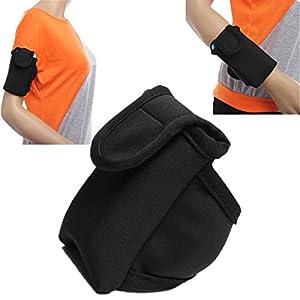 Running - Sports Pocket Phone Sport Armband Sweats Holes Sweat Belts Arms Bands Belt Gonex Dual Hole - For - 1PCs