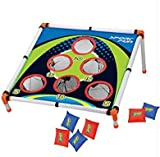 Adorox Bean Bag Toss Game Set Sporty Bean Bag Corn Hole Outdoor Indoor Game Set