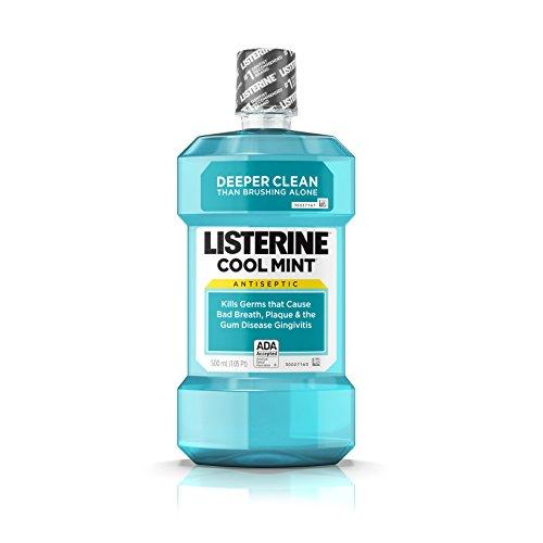 Listerine Antiseptic Mouthwash, Cool Mint, 16.9 Fluid Ounces (Pack of (Best Listerine Acne Treatments)