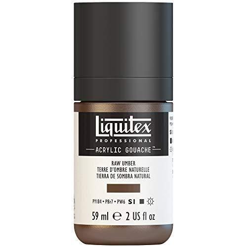Liquitex Professional Acrylic Gouache 2-oz bottle, Raw Umber (Light Umber Raw)