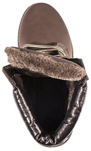 Mujer de Brown Brown Elara nieve botas A1wqnW6Ot4
