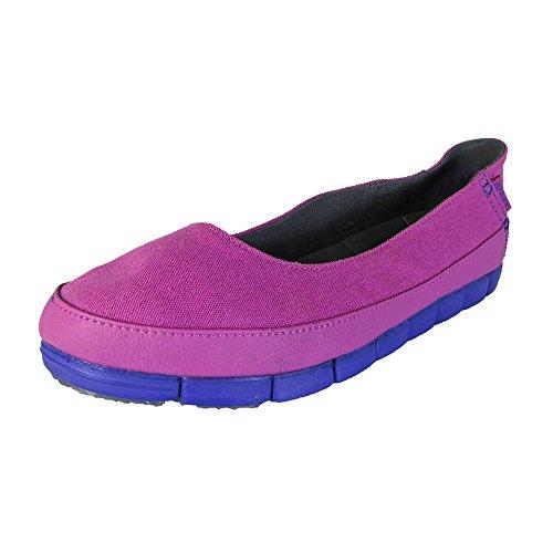 Crocs Womens Semelle Stretch Plate Vibrant Violet / Ultraviolet