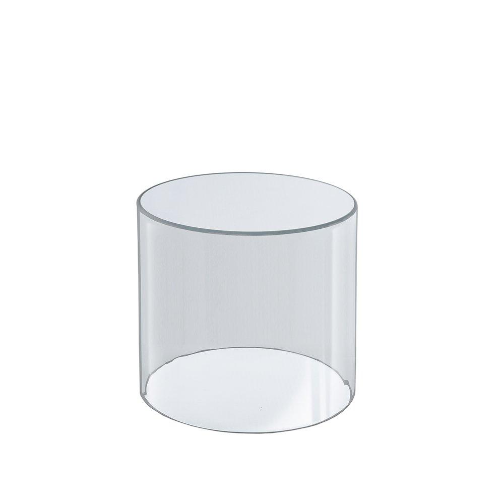Azar Displays 556605 6-Inch W by 6-Inch H Clear Acrylic Cylinder