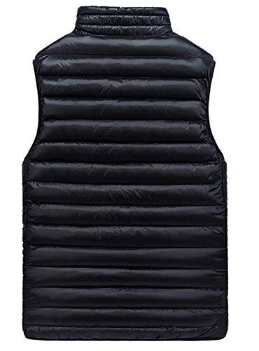 Vest Jacket Vest Jacket Beret Quilted Sided Down Lightweight BoBoLily Double Men's Ultra Blau Coat Wear cWfZwSAvq