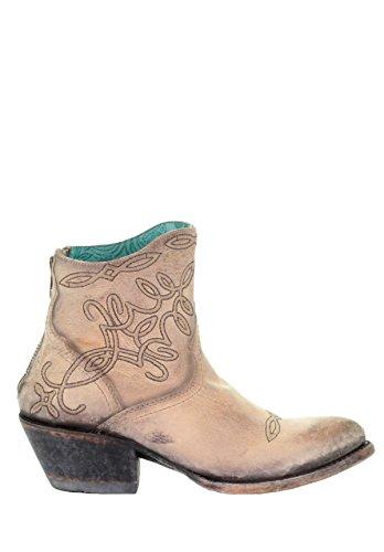 Corral G1452 Beige Broderade Boots