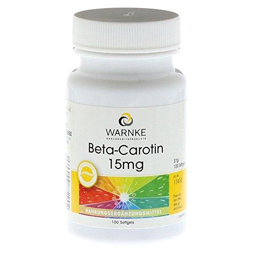 Beta Carotin Kapseln 15 mg, 100 St