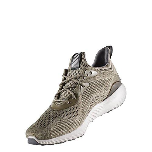 adidas Alphabounce Em M, Zapatillas de Running para Hombre Gris (Trace Olive/trace Cargo/grey One)